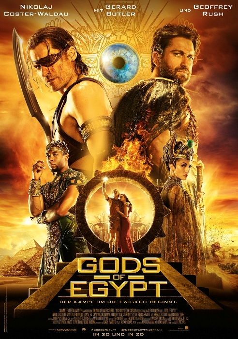 Gods Of Egypt - Poster 01