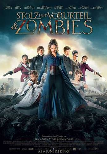 Pride And Prejudice And Zombies - Poster 02