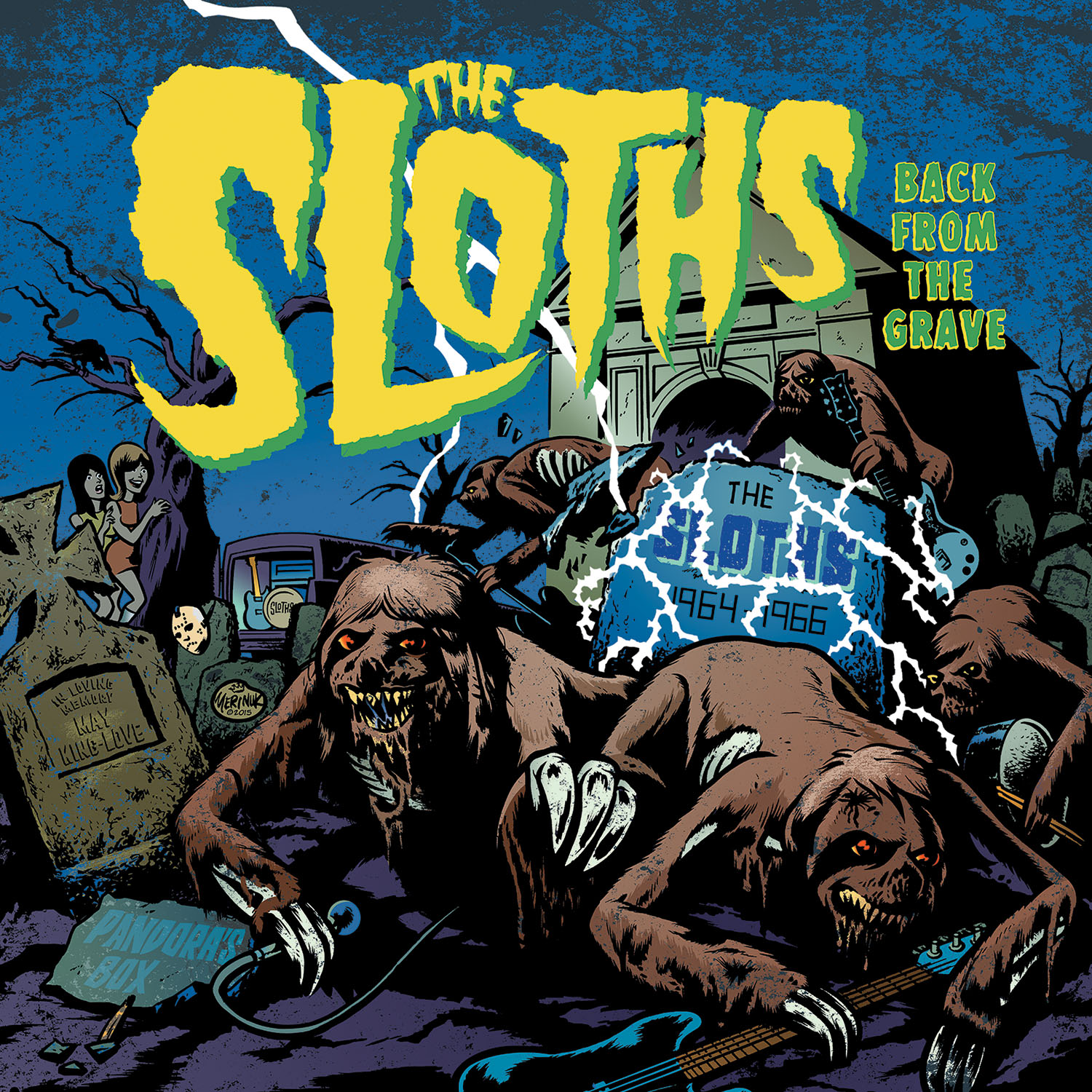 sloths cd sleeve front-rgb