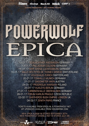 Powerwolf - Tour 01